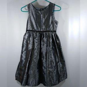 Cherokee Dresses - Silver Metallic Girls 14 Dress Sleeveless Size 14